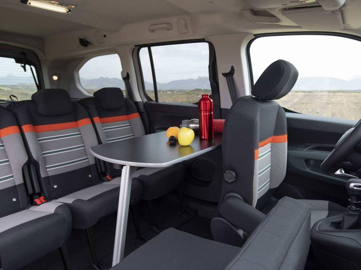 Foto: Ofrece buenas posibilidades de uso para ser un vehículo de acceso al mundo del camper.