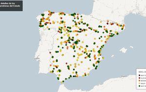 Busque los puntos negros de las carreteras ante la operación salida
