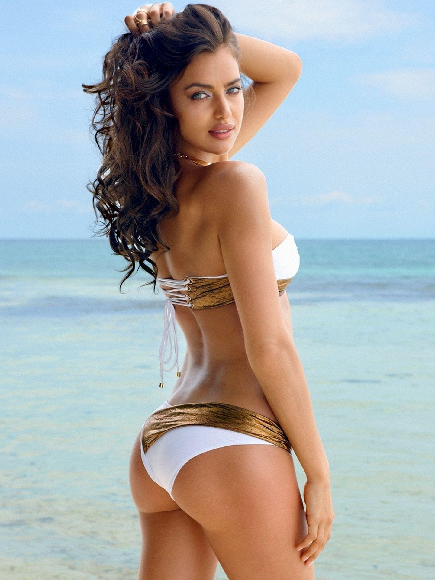 Irina Shayk, en una imagen publicitaria de Victoria's Secret