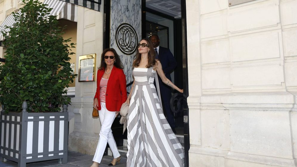 Foto: Angelina Jolie en París. (Cordon Press)