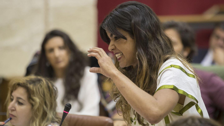 La líder de Podemos Andalucía, Teresa Rodríguez. (EFE)