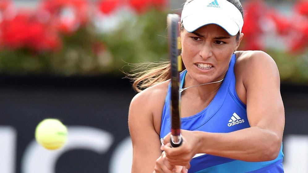Foto: Mónica Puig se ha convertido en la gran esperanza del tenis de Puerto Rico (Efe).