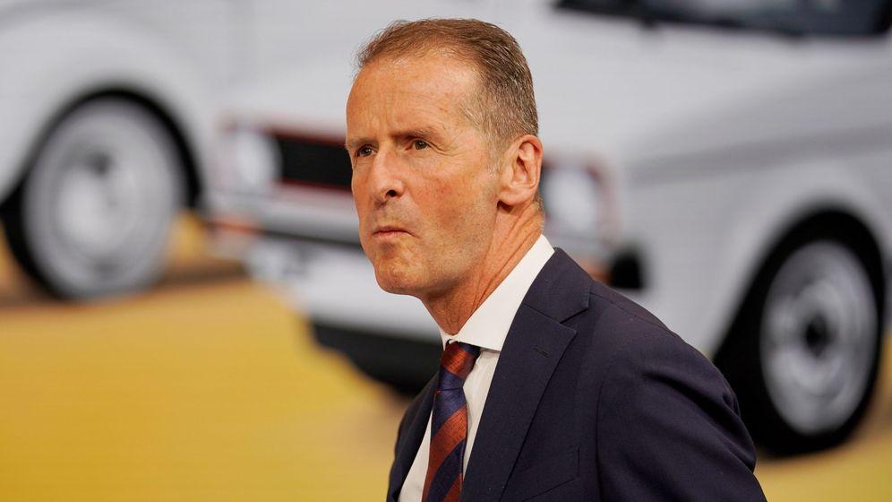 Foto: Herbet Diess, CEO de Volkswagen (Reuters)