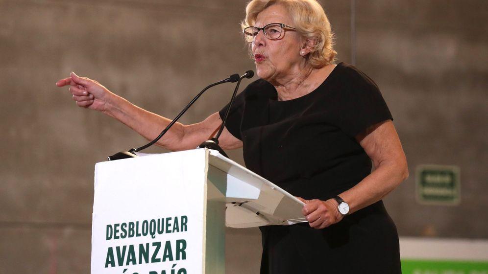 Foto: La exalcaldesa de Madrid Manuela Carmena. (EFE)