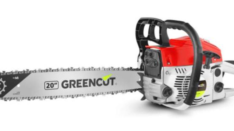 La mejor motosierra de gasolina de la marca Greencut