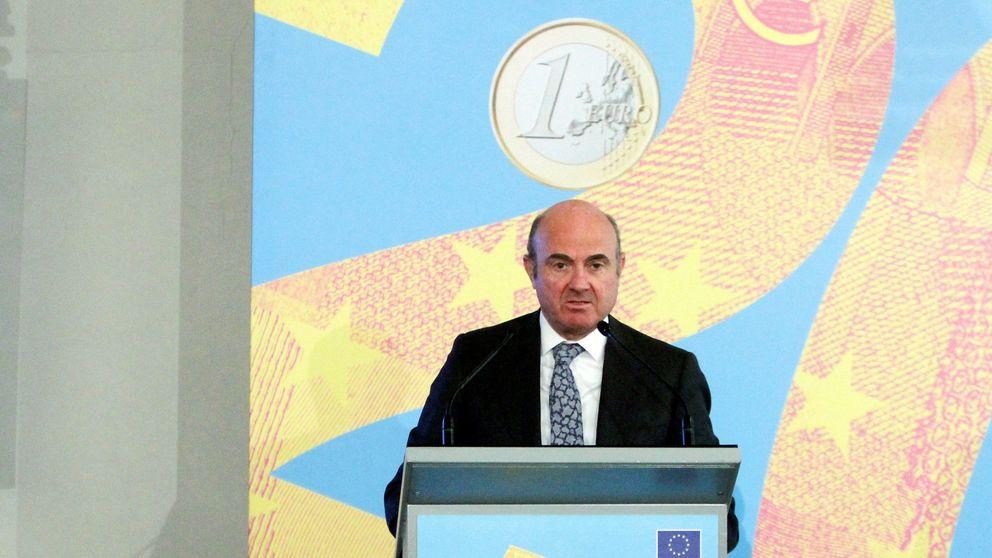 Guindos (BCE) ve probable la moderación de la eurozona durante 2019