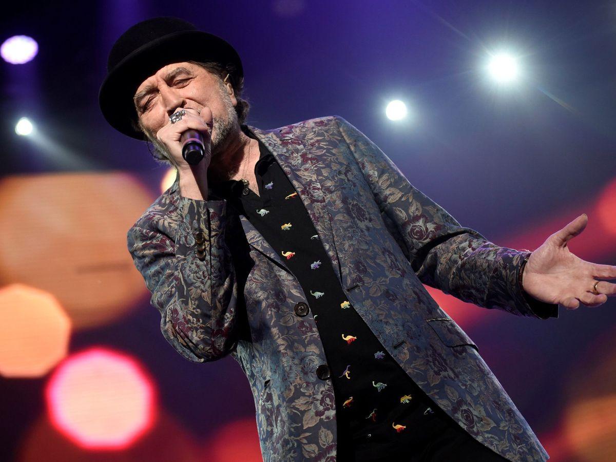 Foto: Joaquín Sabina, durante un concierto. (EFE)