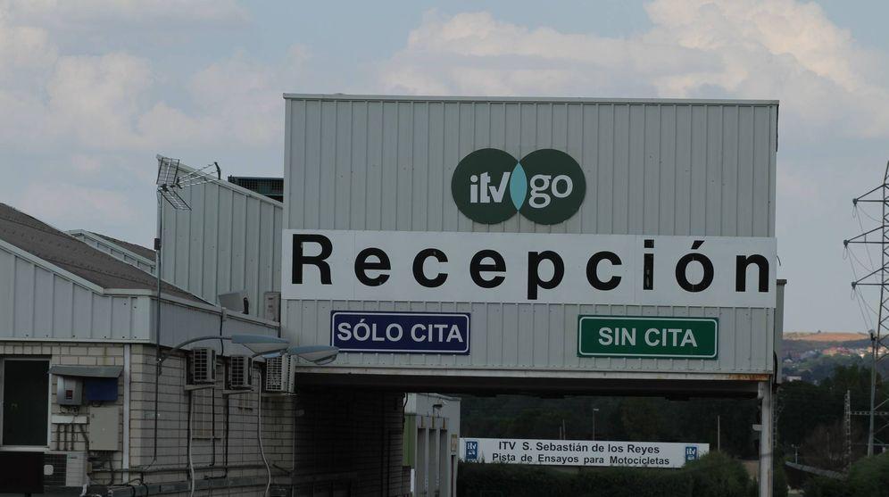Foto: Entrada de la estación de ITV en el norte de Madrid.