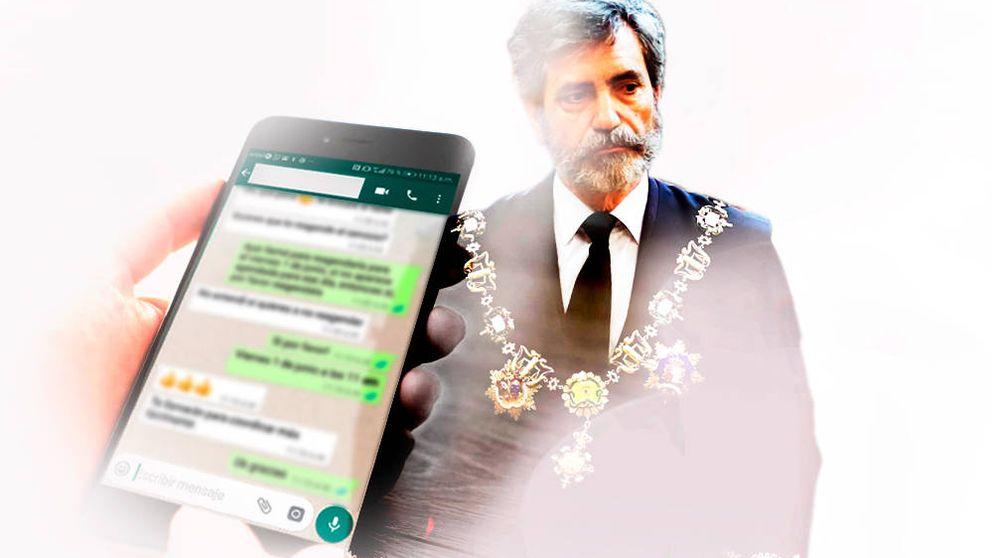 Patético es poco, menudo escándalo: los chats de jueces arden contra el Supremo