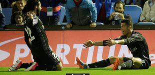 Post de Cristiano le deja a punto la Liga al Real Madrid, que ya huele de cerca el alirón