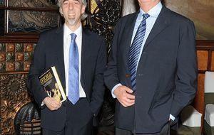 Foto: Presentación en Barcelona con el duque de Braganza