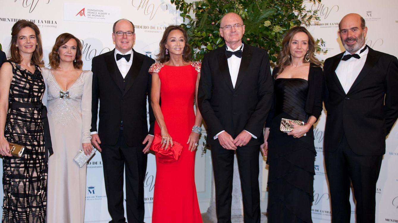 Foto: La jet set española apoya la fundación del príncipe Alberto de Mónaco