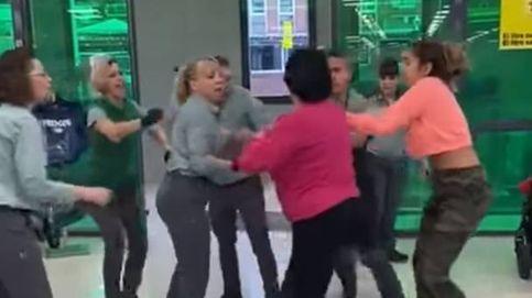 Violenta agresión en un Mercadona de Cerdanyola del Vallès (Barcelona)