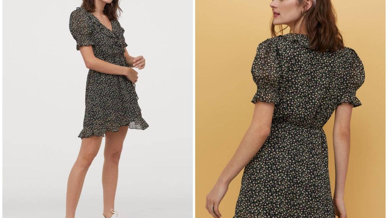 Nuevo vestido de HyM. (Cortesía)