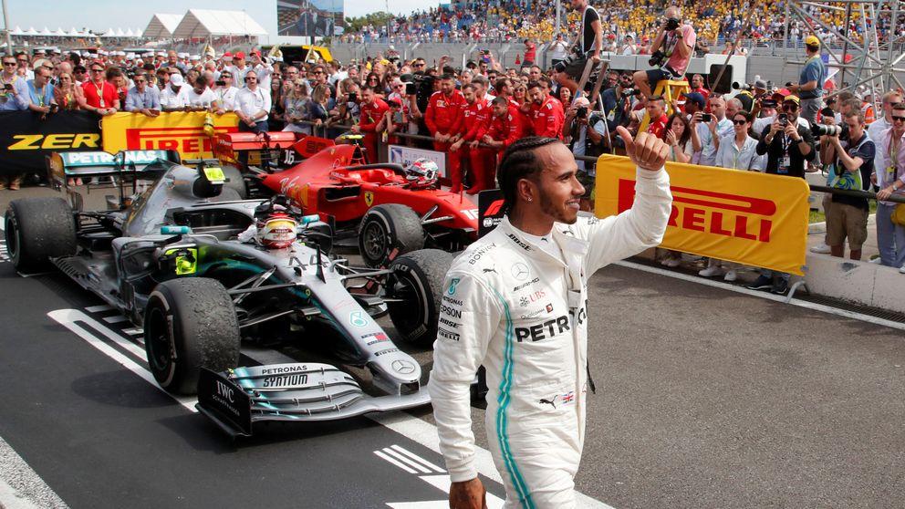 Resultado F1: Hamilton se pasea en Francia y Carlos Sainz brilla para sacar lo máximo (6º)