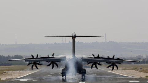 Airbus detecta un fallo en los motores del A400M siniestrado en Sevilla