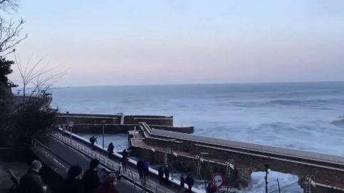 El espectacular poder del Cantábrico: 'timelapse' de la tormenta Ciara en Zarautz