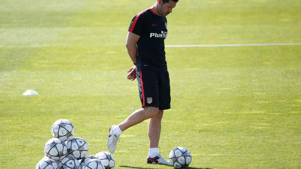 Si el Real Madrid juega al contragolpe, ¿qué hacemos con la pelota, Simeone?