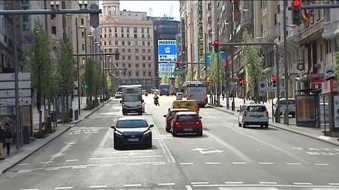 Madrid fantasma: primer lunes de estado de alerta en la capital