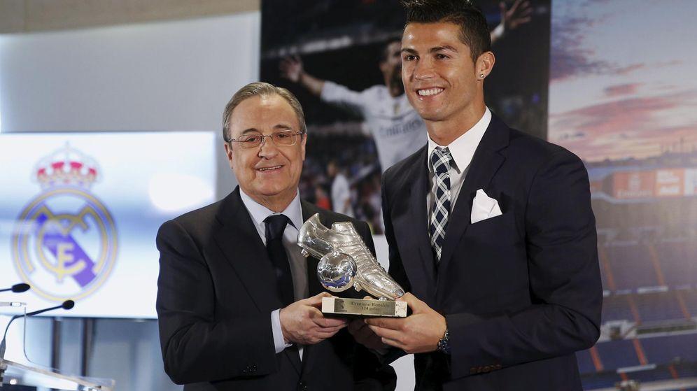 Foto: Florentino le firmará otro contrato a Cristiano (Sergio Pérez/Reuters).