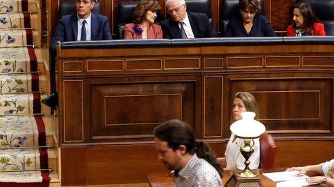 'Postdemocracia' y crisis en la trifulca Sánchez - Iglesias