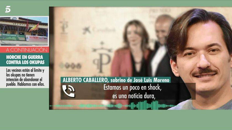 Alberto Caballero, en 'El programa de AR'. (Telecinco)