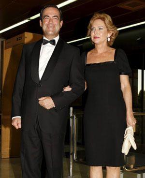 José Bono y su esposa anuncian su separación