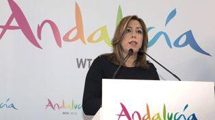 Los partidarios de Susana Díaz quieren que su candidatura sea la única en el congreso