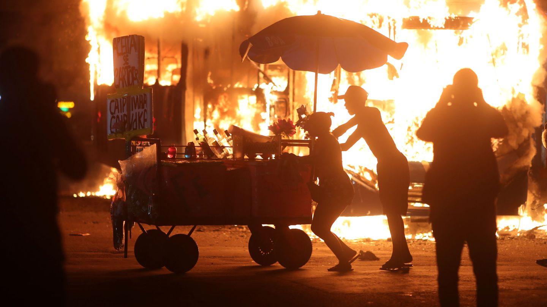 Protestas contra los recortes de educación en Brasil. (Reuters)