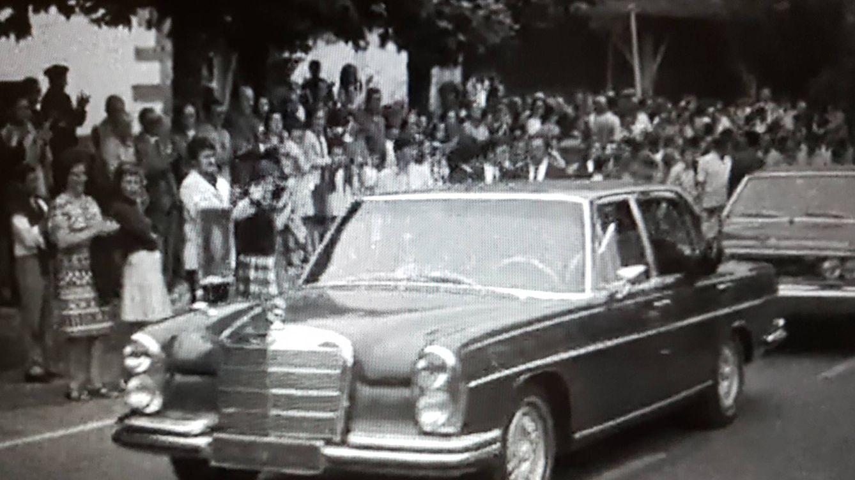 Sale a subasta el coche personal de los reyes de España en los 70, un Mercedes 300 SEL
