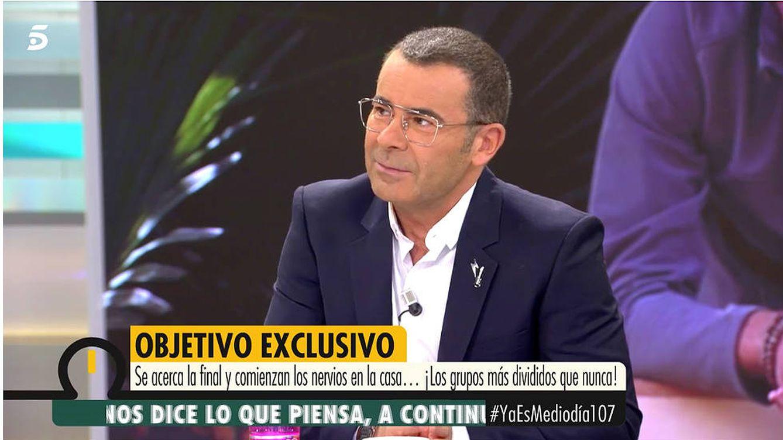 Jorge Javier desvela que nunca ha vivido tal nivel de crispación como con 'GH VIP 6'