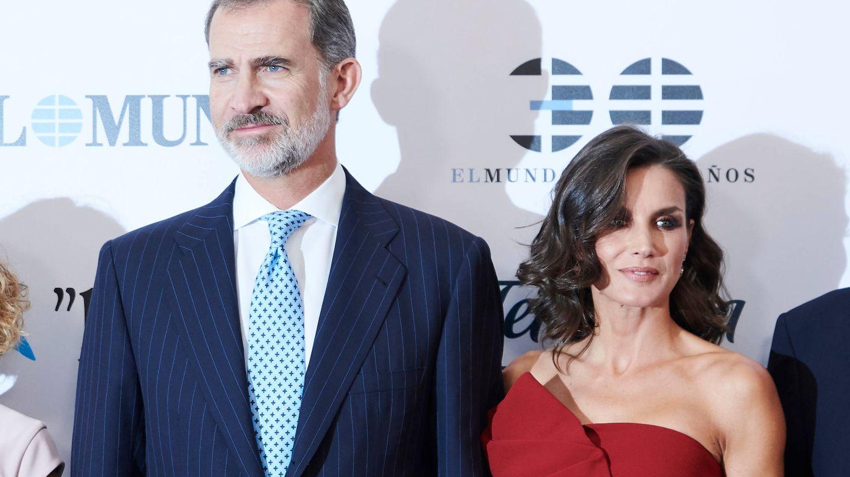 Los reyes Felipe y Letizia, el pasado martes. (Limited Pictures)