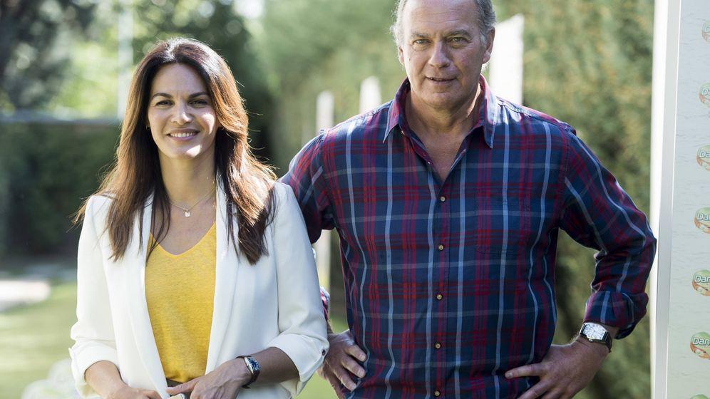 Foto: Fabiola Martínez y su marido, Bertín Osborne. (Gtres)