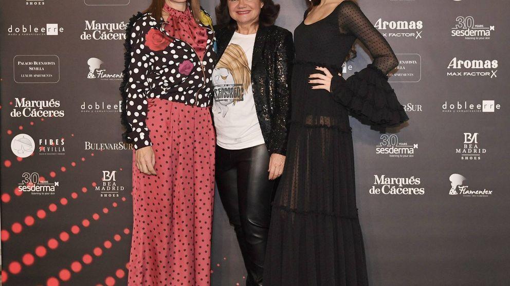 Cósima, Carlos Herrera, Norma Duval y Beatriz de Orleans, estrellas 'flamencas'