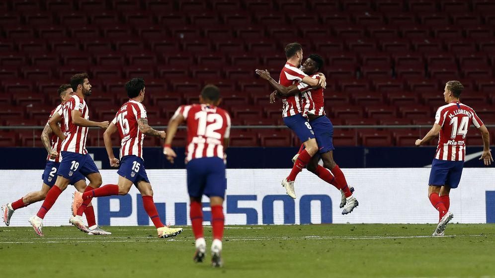 Foto: El Atlético de Madrid encadena su mejor racha de la temporada. (EFE)
