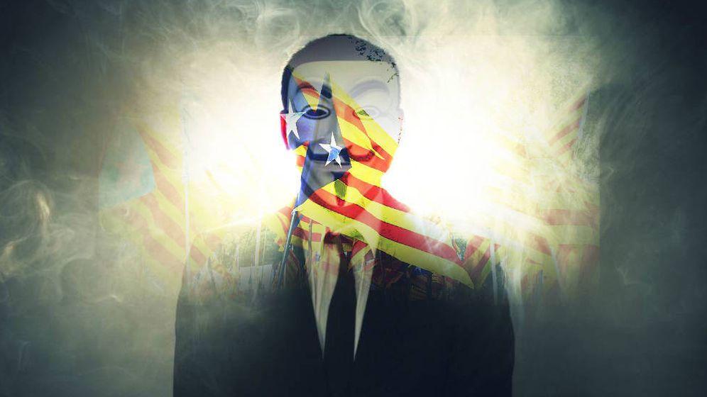 Foto: Guy Fawkes, el rostro con el que se identifican los miembros de Anonymous.