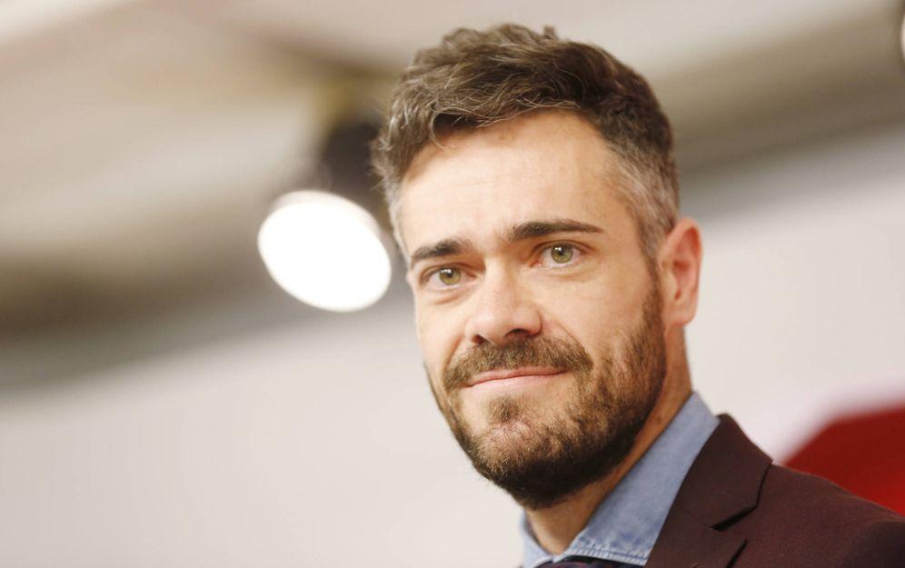 Foto: Felipe Sicilia, portavoz adjunto del comité electoral del PSOE y número uno del partido por Jaén el 28-A, el pasado 11 de abril en Ferraz. (Inma Mesa | PSOE)
