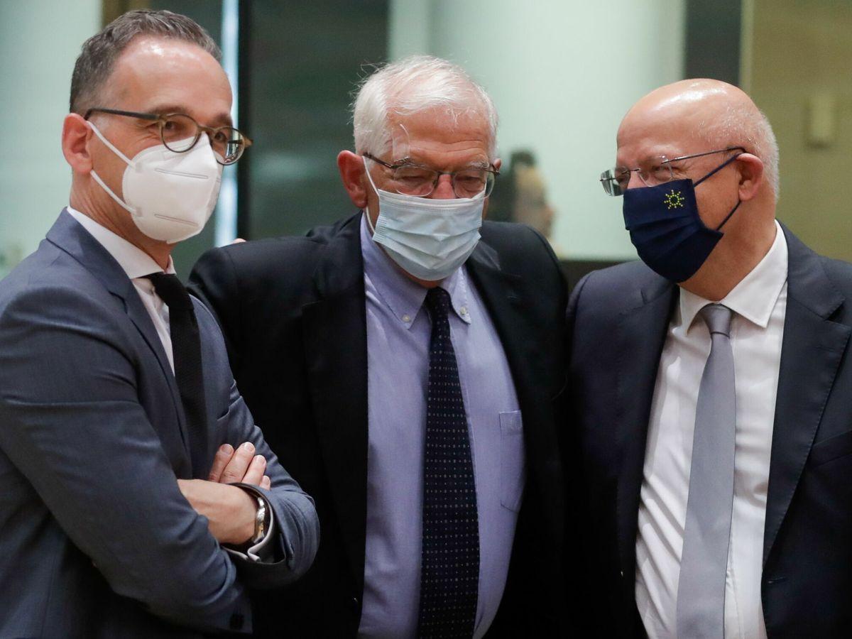 Foto: El alto representante de la UE, Josep Borrell, en un encuentro de ministros europeos. (EFE)