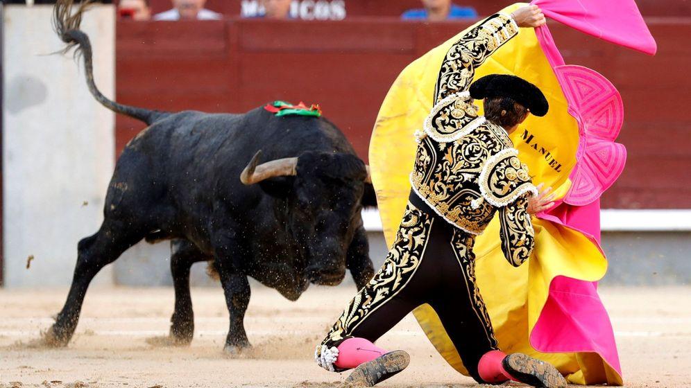 Foto: El diestro Manuel Excribano, en Las Ventas. (EFE)