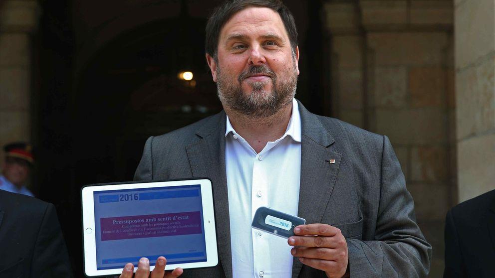 Junqueras presenta un Presupuesto para 2016 sin el apoyo de la CUP