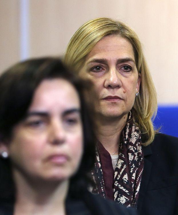 Foto: La infanta Cristina, en el banquillo de los acusados. (EFE)