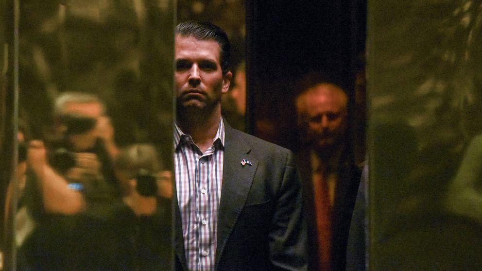 El hijo de Trump aceptó encantado la información de los rusos sobre Clinton