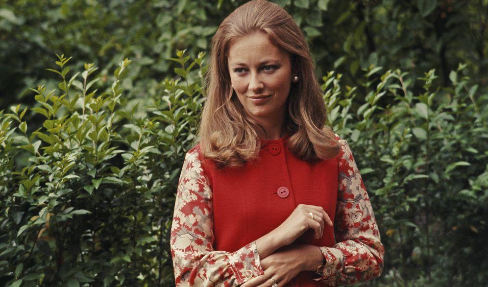 Foto: La entonces princesa Paola Ruffo di Calabria, en junio de 1969. (Getty)