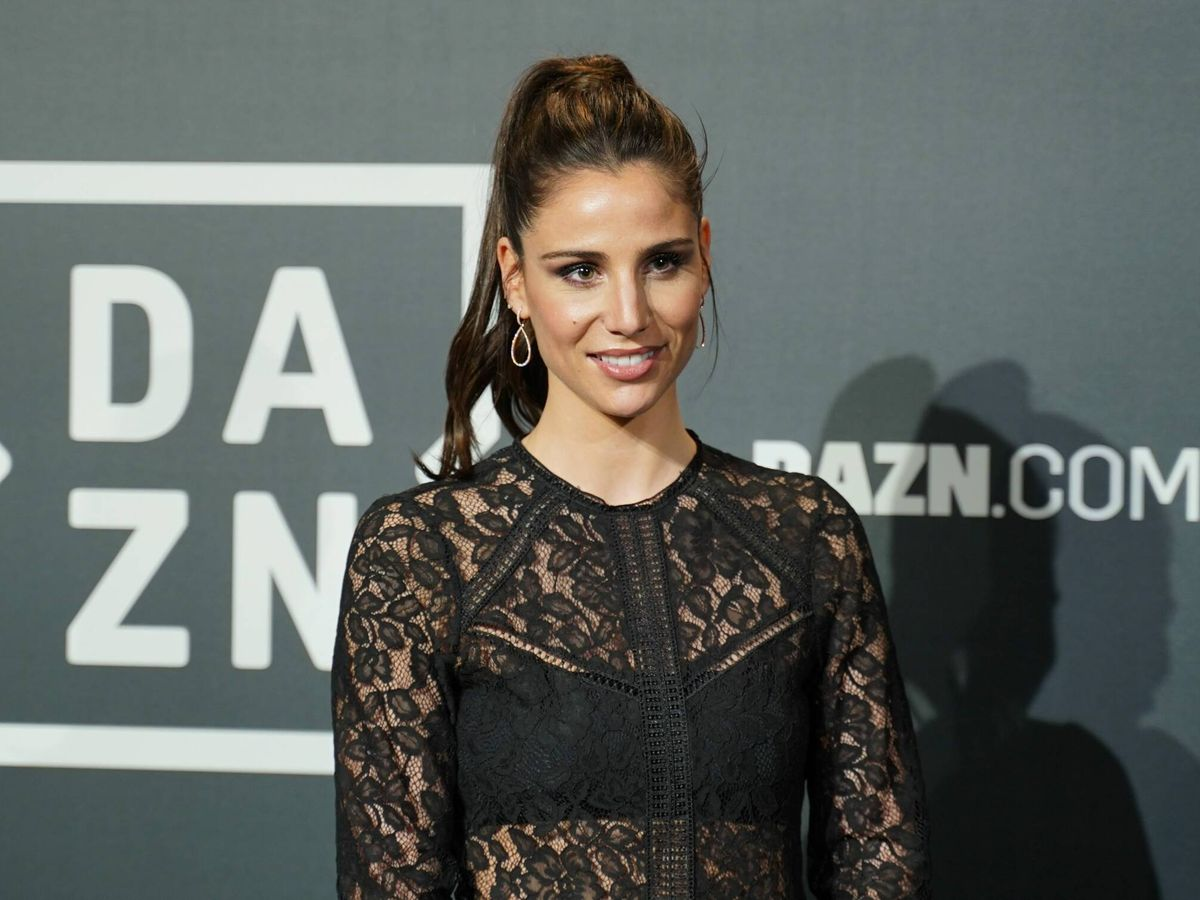 Foto: Lucia Villalón, en la fiesta de Dazn celebrada en febrero de 2020. (CP)