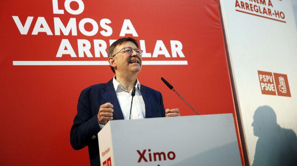 Foto:  El secretario general del PSPV-PSOE y candidato a la Generalitat, Ximo Puig. (EFE)