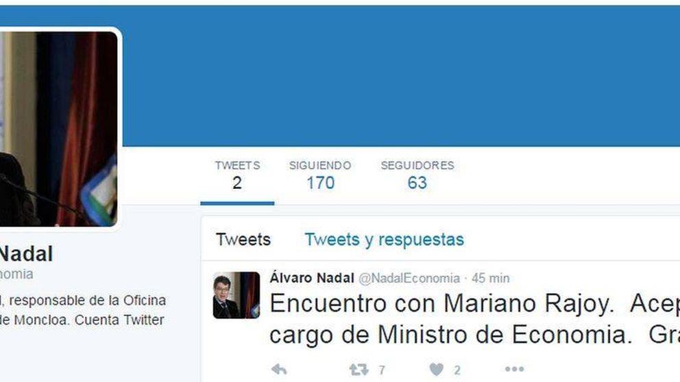 El día que Álvaro Nadal 'anunció' que sería ministro de Economía