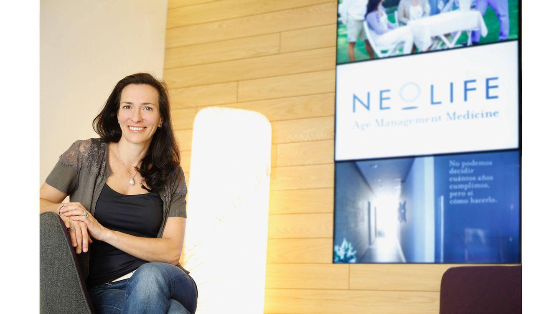 Foto: En la imagen, Esther Anzola, CEO y accionista de Neolife.