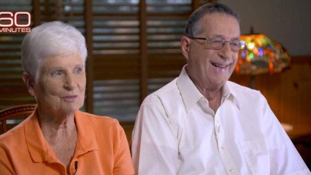 Foto: Jerry y Marge Selbee, en un programa de la 'CBS'.