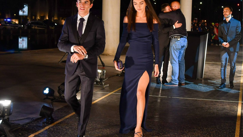 Lucía Rivera con el vestido de Lexdeux en cuestión. (Cordon Press)