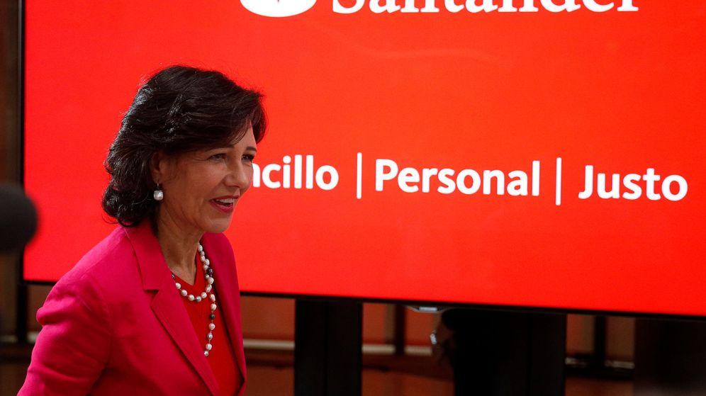 Foto: Ana Botín, presidenta del Banco Santander (Reuters)